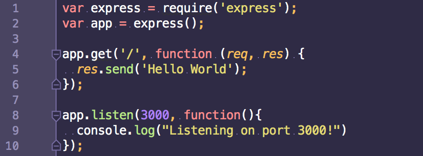 Serving Static Content with Node js and Express