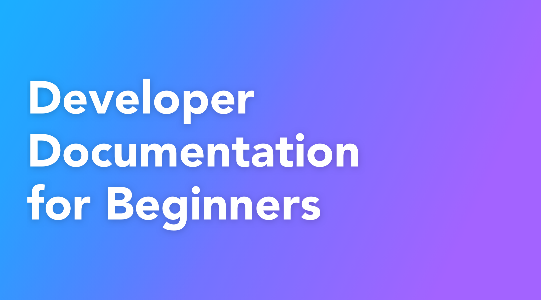 A Beginner's Guide to Using Developer Documentation Like a Pro